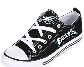 Philly *EAGLES* canvas sneaker and high top