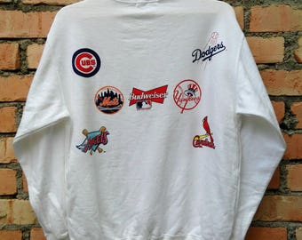 Rare!!! budweiser King Of Beer Pullover Large Size