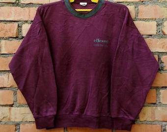 Vintage Ellesse Sportswear Casual Sweatshirt Medium Size
