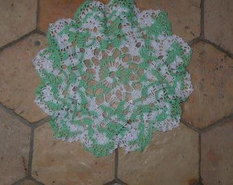 HANDMADE crochet lace doily 02