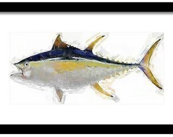 Yellowfin Tuna Printable