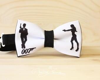 James Bond Bow tie - Bowtie