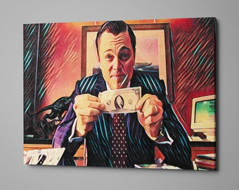 Wolf of Wall Street, Art, money, fame, fortune, stocks, millions