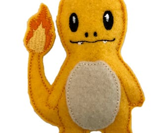 Charmander inspired Catnip Toy