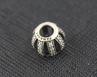 New Authentic Pandora Charm Bead Leading Lady Clear Cz 791115CZ