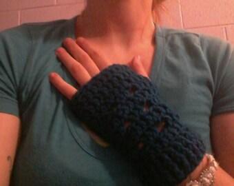 fingerless gloves/muffs