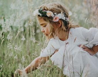 Crown flower wedding hair accessorize