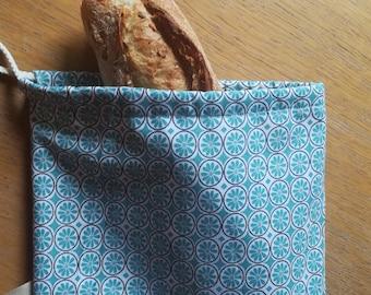 """Bread sticks """"blue roses"""" handbag bag"""