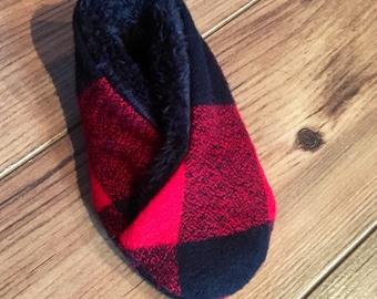 Kimono baby slippers
