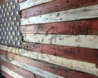 Wooden flag, Barn wood, wood flag, Rustic wood flag, American flag, wood American flag, American wood flag, wood flag, barn wood ,