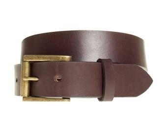 Dark Brown Leather Belts | Mens Brown Belt | Men Belts | Handmade Leather Belts | Custom Belts | Brown Belts | Gift for Dad Brother Coworker