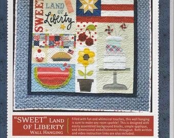 Sweet Land of Liberty - Pattern - by Kimberbell Designs