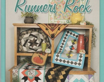 Runners Rock - Book/Patterns - by Gathering Friends - Awesome Runners!