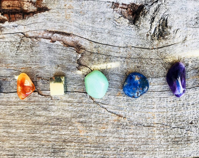Healing Chakra Stone Set