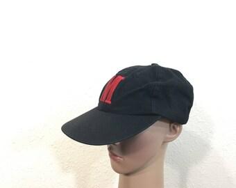90's vintage marlboro cigarette cotton baseball cap