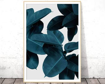 Tropical Leaf Print, Plant Prints, Modern Art, Tropical Printable Art, Tropical Decor, Plant Leaf Print, Leaf Printable, Leaf Photo, Leaves