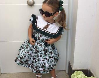 Girls Christmas Dress, Girls Xmas Dress, Toddler Christmas Dress, Baby Girl Christmas Dress, Christmas Outfit, Girls Winter Dress, Pupolino.