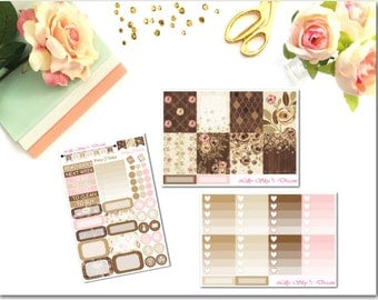 Dusty Rose 3 Page Kit