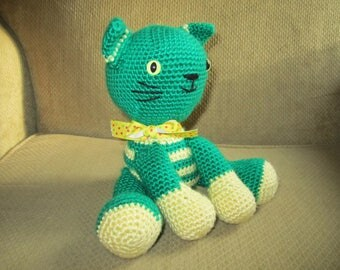 Handmade, Crocheted Kitten