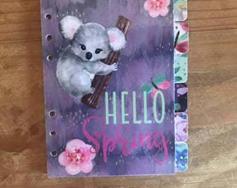 Spring Time planner dividers. Available for pocket, personal, foxy fix personal wide, recollections and A5 planners.