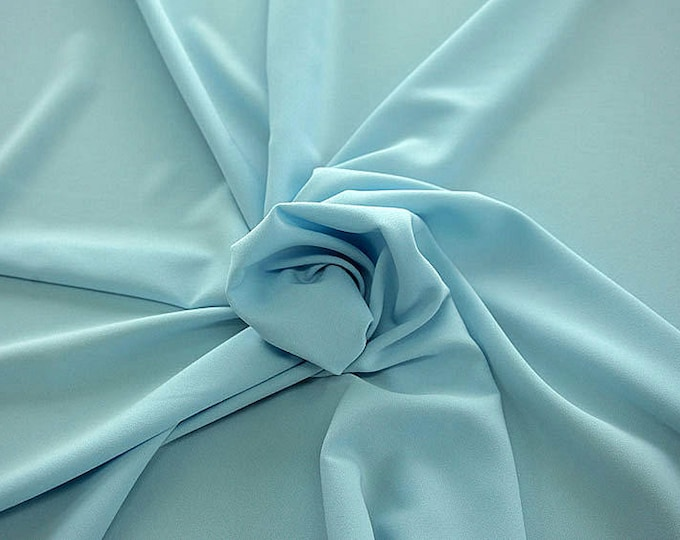 905150-Crepe 100% Polyester, width 150 cm, made in Italy, dry washing, weight 306 gr