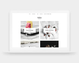 SALE! Ridley | Responsive Blogger Template