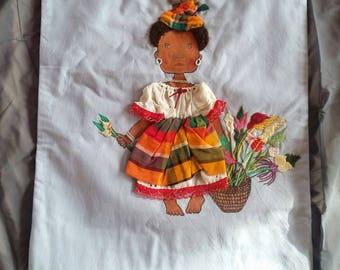 Decorative pillow - unique - Caribbean