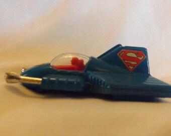 1979 DC Comics Superman Blue  CORGI Supermobile Metal Toy Made in Great Britain