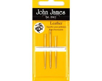 John James Needles - Leather Hand Sewing Needles