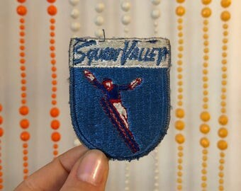 Vintage Squaw Valley Skiing Patch