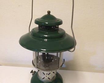 Vintage 1962 Coleman 228E Lantern, Camping Lantern, Wichita Kansas, Vintage Lantern, Coleman Lantern, Vintage camping lantern, Gas Lantern