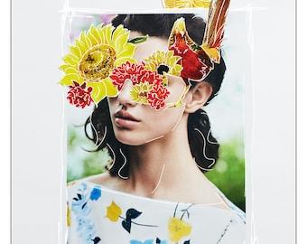 Mona | original collage art print
