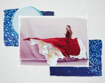 Launch | original collage art print