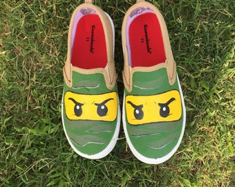 Ninjago /lego inspired shoes