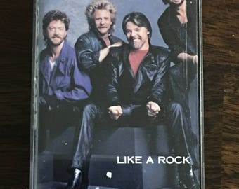 Bob Seger & The Silver Bullet Band Like A Rock Cassette Tape