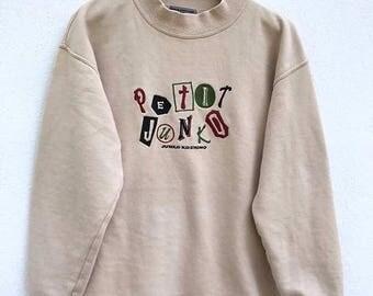 20% OFF Vintage Junko Koshino Sweatshirt Spellout Jacket Japan Designer Made In Japan / Junko Koshino Hoodie sz 150