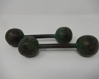 Old dumbbell, free shipping