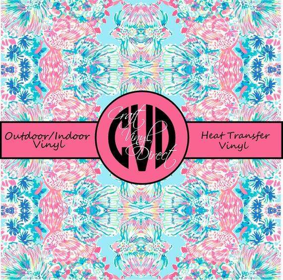 Beautiful Patterned Vinyl // Patterned / Printed Vinyl // Outdoor and Heat Transfer Vinyl // Pattern 692
