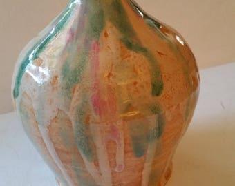 Handmade vase, pottery