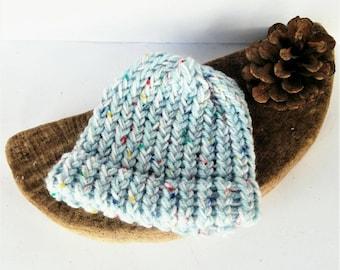 SUMMER SALE, blue baby hat, baby shower gift, knitted baby hat, baby knit hat, sale, newborn hat, baby girl hat, baby boy hat, baby shower