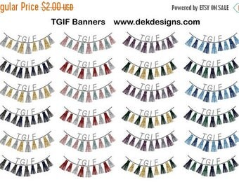40% Off Sale TGIF Banners