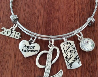 RETIREMENT GIFT IDEAS, Retiring Gift, Happy Retirement, Find Joy In The Journey, Retirement Jewelry, Retirement Gifts For Women,Leaving Gift