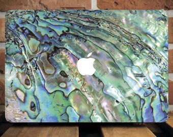 Abalone Shell Macbook Case Macbook Air 11 Inch Case Shell Mac Air Cover Shell Macbook Case 12 Laptop Hard Case Laptop Case Macbook 12 WCm186