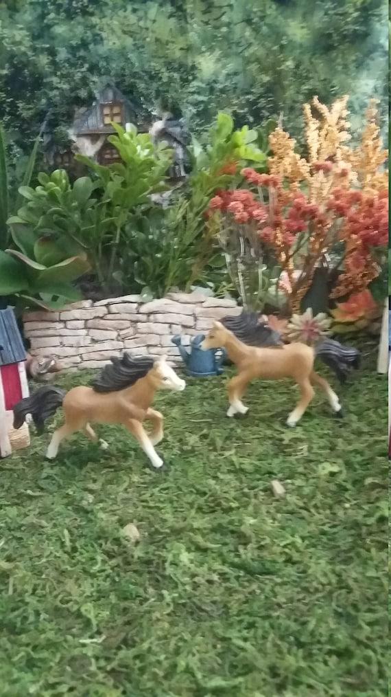 Fairy Garden Miniature HORSE, Horse For Your Farm Themed