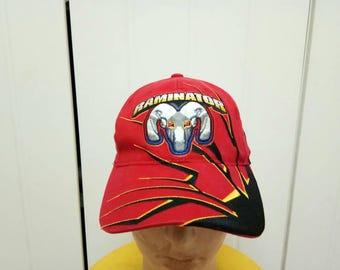 Rate Vintage RAMINATOR DODGE Big Logo Cap Hat Free Size Fit All