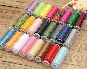 24 x coils colors Polyester
