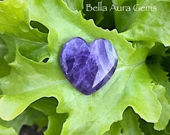 Amethyst Heart-Amethyst Puffy Heart