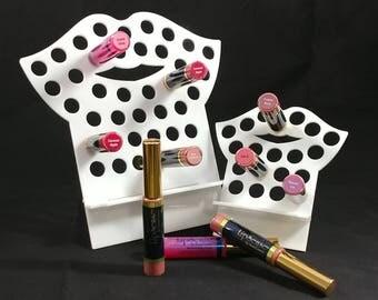 NEW color,  EASIER design, White, LipSense holder.Lip gloss organizer, LipSense Organizer, LipSense display, lipstick stand,