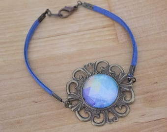 Polygonal handmade bracelet