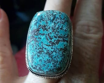 Turquoise Ring - size 8.75!